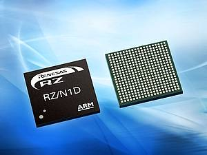 RZ/N1-Series – Multi-protocol Communication SoCs for Industrial Networks